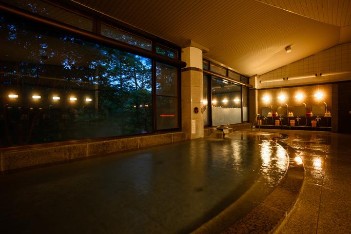 森林展望大浴場「えんめいの湯」