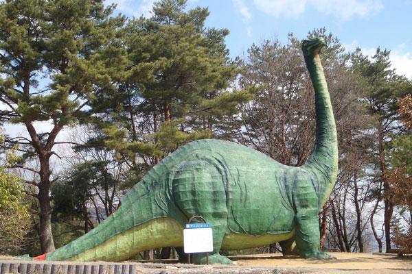 茶臼山恐竜公園